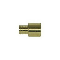 McDonald® 5423-031 72300SF Female Sweat Adapter, 1 in, PEX x Female C, Brass