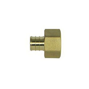 McDonald® 5423-064 72300F Female Adapter, 1 in, PEX x FNPT, Brass