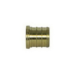 McDonald® 5423-038 72302 Plug, 3/4 in, PEX, Brass