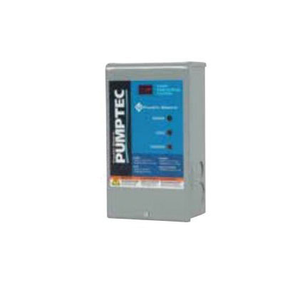 McDonald® 6617-425 Pumptec With Remote Reading, 115/230 VAC, 1/3 to 1-1/2 hp, 60 Hz, For Use With 4 in Single Phase Submersible Motor 1/3 Through 1-1/2 hp, Domestic