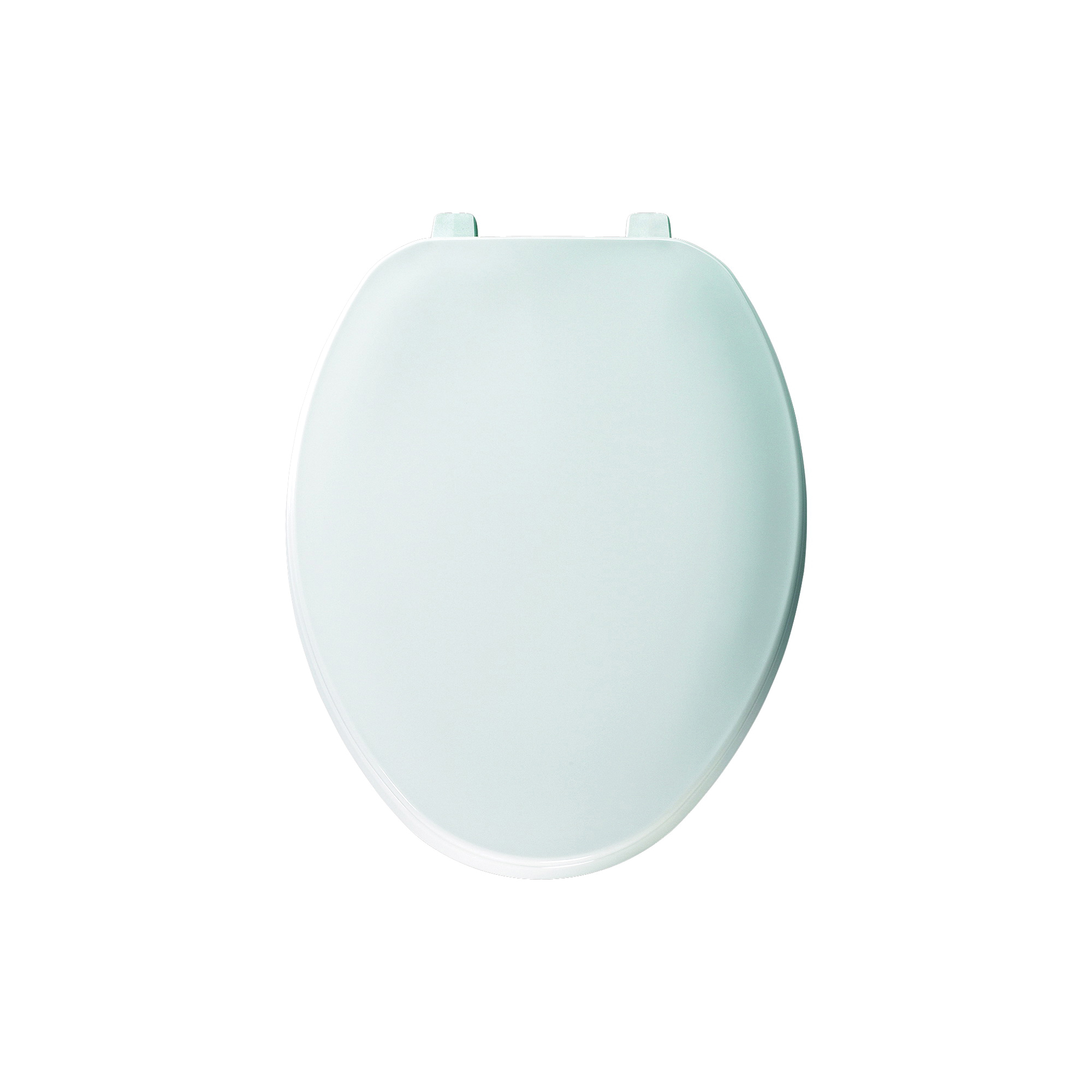 Bemis® 170 000 Traditional Toilet Seat With Cover, Elongated Bowl, Closed Front, Plastic, White, Top-Tite® Hinge, Domestic