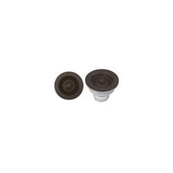 Blanco 441094 Decorative Basket Waste Strainer, Stainless Steel, Cafe Brown