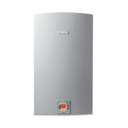 Bosch C 1050 ES NG Greentherm Tankless Gas Water Heater, Natural Gas Fuel, 199000 Btu/hr Heating, Indoor/Outdoor: Indoor or Outdoor, Condensing/Non Condensing: Condensing, 0.5 gpm, Concentric Vent, 0.94, Commercial/Residential/Dual: Dual, Ultra Low NOx: No