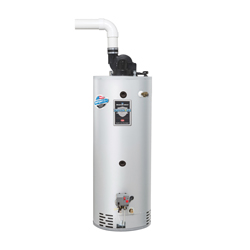 Bradford White® Combi2™ TTW® Defender Safety System® C-DW2-TW50T10FBN Gas Water Heater System, 67000 Btu/hr Heating, 45 gal Tank, Natural Gas Fuel, Power Vent, 72 gph at 90 deg F Recovery, Ultra Low NOx: No, Domestic