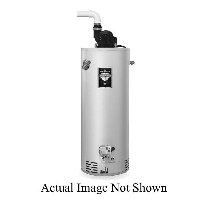 Bradford White® Defender Safety System® TTW®1 Energy Saver Gas Water Heater, 40000 Btu/hr Heating, 40 gal Tank