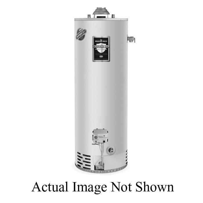 Bradford White® Defender Safety System® M-4-5036FBN Energy Saver Gas Water Heater, 40000 Btu/hr Heating, 50 gal Tank