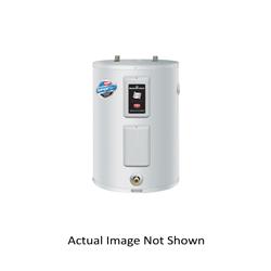 Bradford White® RE250L6-1NCWW Lowboy Electric Water Heater, 47 gal Tank, 208/240 VAC, 3500 W at 208 VAC/4500 W at 240 VAC, 1 ph, Domestic