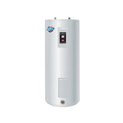 Bradford White® RE250S6-1NCWW Upright Electric Water Heater, 50 gal Tank, 208/240 VAC, 3500 W at 208 VAC/4500 W at 240 VAC, 1 ph, Tall or Short: Short, Domestic