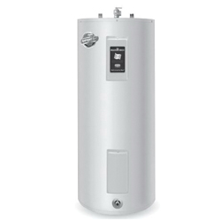 Bradford White® RE340S6-1NCWW Upright Electric Water Heater, 40 gal Tank, 208/240 VAC, 3500 W at 208 VAC/4500 W at 240 VAC, 1 ph, Domestic
