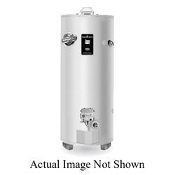 Bradford White® RG250H6N High Input Gas Water Heater, 65000 Btu/hr Heating, 48 gal Tank, Natural Gas Fuel, Atmospheric Vent, 70 gph at 90 deg F Recovery, Ultra Low NOx: No, Domestic