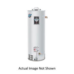 Bradford White® RG275H6N-475 High Input Hi-Alt Gas Water Heater, 76000 Btu/hr Heating, 75 gal Tank, Natural Gas Fuel, Atmospheric Vent, 82 gph at 90 deg F Recovery, Ultra Low NOx: No, Domestic