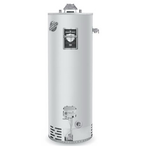 Bradford White® RG250T6X Gas Water Heater, 35000 Btu/hr Heating, 50 gal Tank, Propane Gas Fuel, Atmospheric Vent