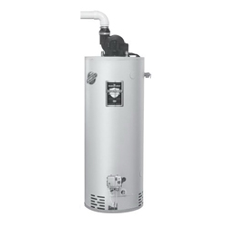 Bradford White® RG2PV75H6N Gas Water Heater, 76000 Btu/hr Heating, 75 gal Tank, Natural Gas Fuel, Power Vent, 82 gph at 90 deg F Recovery, Ultra Low NOx: No