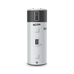 Bradford White® RE2H50R10B-1NCWT AeroTherm™ Electric Mode Heat Pump Water Heater, 50 gal Tank, 208/240 VAC, 3500 W at 208 VAC/4500 W at 240 VAC, 1 ph, 35 to 120 deg F, Domestic