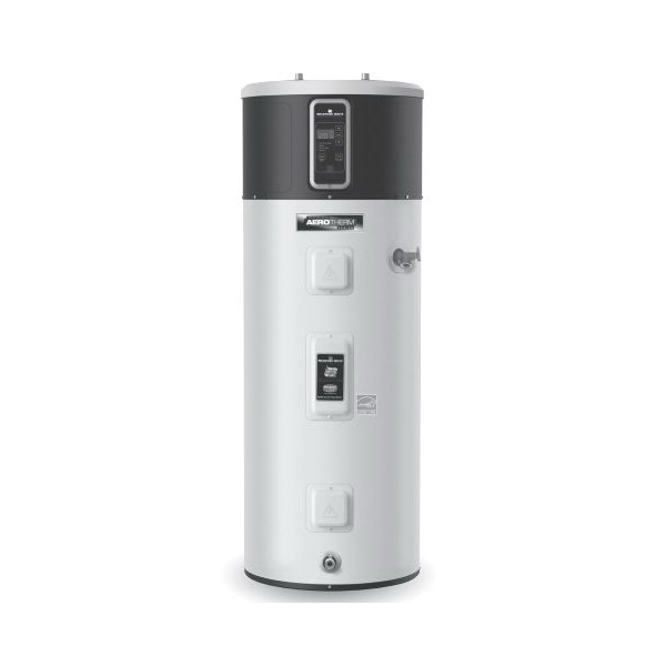 Bradford White® RE2H50R10B-1NCWT AeroTherm™ Electric Mode Heat Pump Water Heater, 50 gal Tank, 208/240 VAC, 3500 W at 208 VAC/4500 W at 240 VAC, 1 ph, 35 to 120 deg F, Domestic