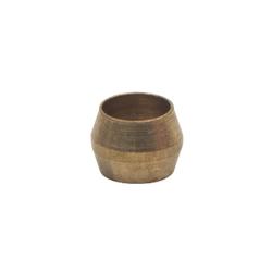BrassCraft® 60-4 Compression Tube Sleeve, 1/4 in, 0.03 in THK, Brass, Domestic