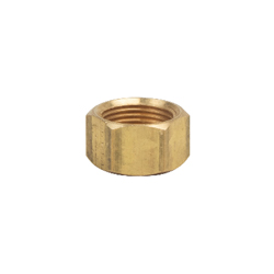 BrassCraft® 61CP-6X Tube Nut, 3/8 in, Compression, Brass, Domestic