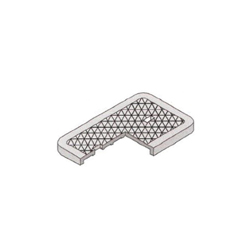 Brooks Products 37-T Solid Traffic Cover Only, For Use With Model 37MB 12 x 20 in Meter Box, Cast Iron