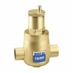 Caleffi DISCAL® 551028A Air Separator, 1 in, C, 150 psi Working, 32 to 250 deg F, Brass
