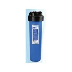 NOVO™ Aqua Flo™ PLATINUM 36112 Filter Housing, 20 gpm, 7 in Dia x 24 in H, 1 in NPT Port, 35 to 100 deg F
