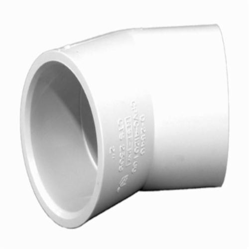 Charlotte FlowGuard Gold® CTS 02309 0800 45 deg Pipe Elbow, 3/4 in, Socket, SDR 11, CPVC, Domestic