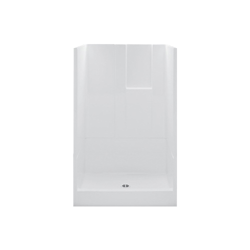 Consolidated Supply Co. | CDX XS1483NTRIAC 3-Piece Shower Stall, 48 ...