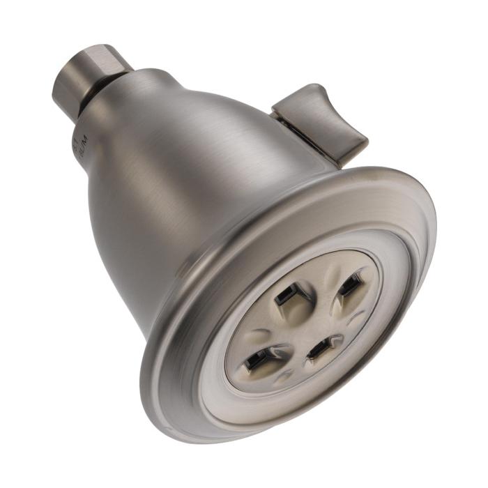 DELTA® 52660-SS-PK Shower Head, 2 gpm, 1 Spray, Wall Mount, Import