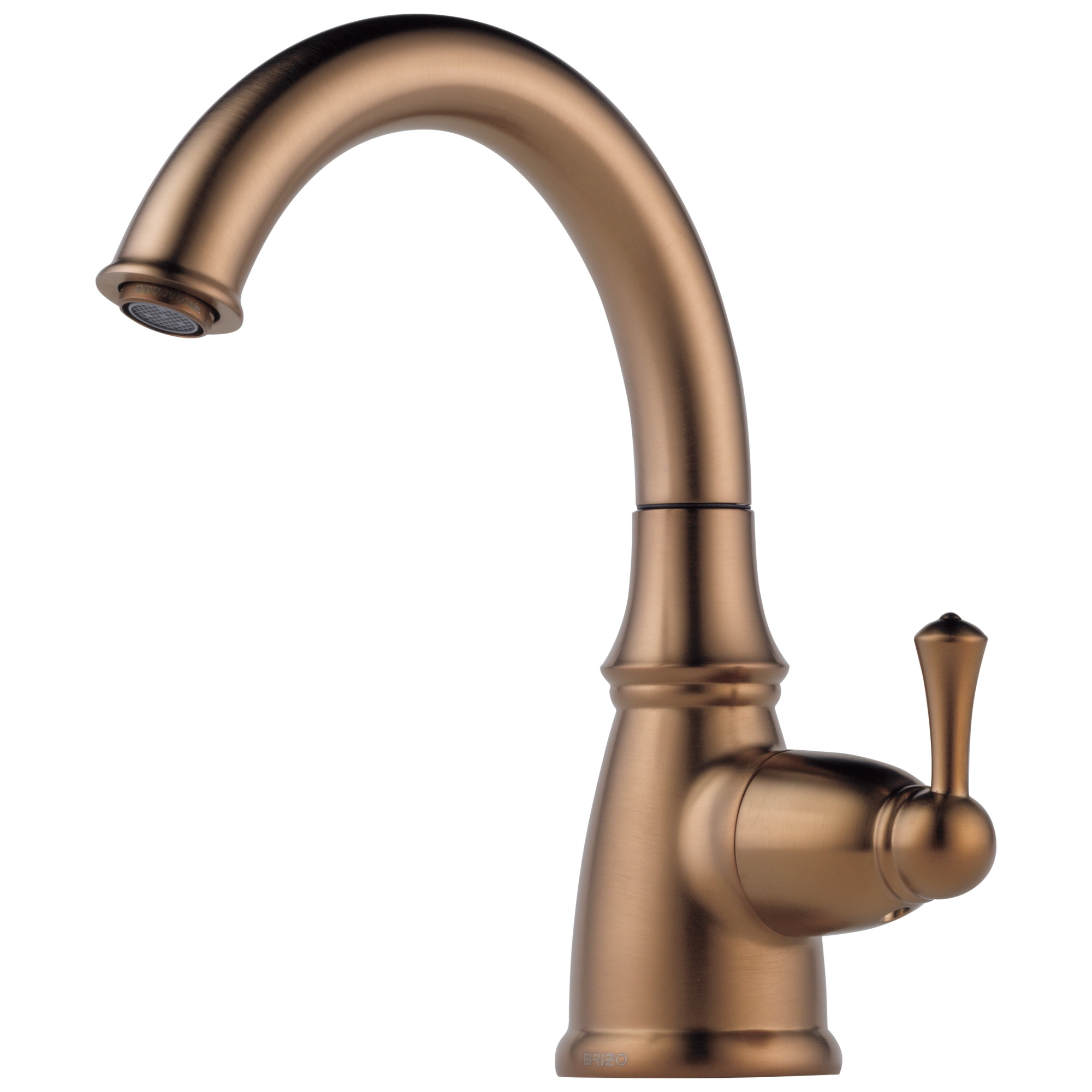 Brizo® 61310LF-BZ Traditional Beverage Faucet, 1.5 gpm, 1 Handle, Brilliance® Brushed Bronze, Domestic