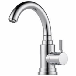 Brizo® 61320LF-PC Euro Beverage Faucet, 1.5 gpm, 1 Handle, Chrome Plated, Domestic