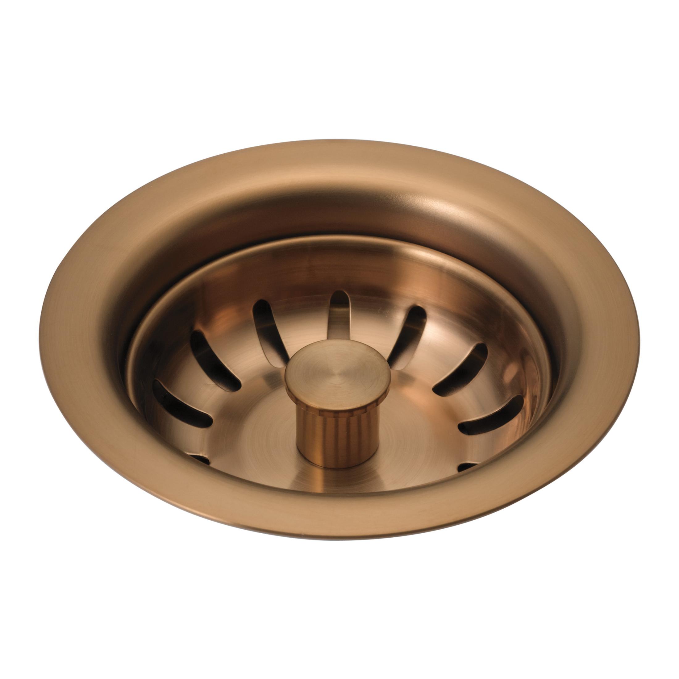 Brizo® 69050-BZ Flange and Strainer, 1-1/2 x 11-1/2 in Nominal, NPSM, Brass, Brilliance® Brushed Bronze, Import