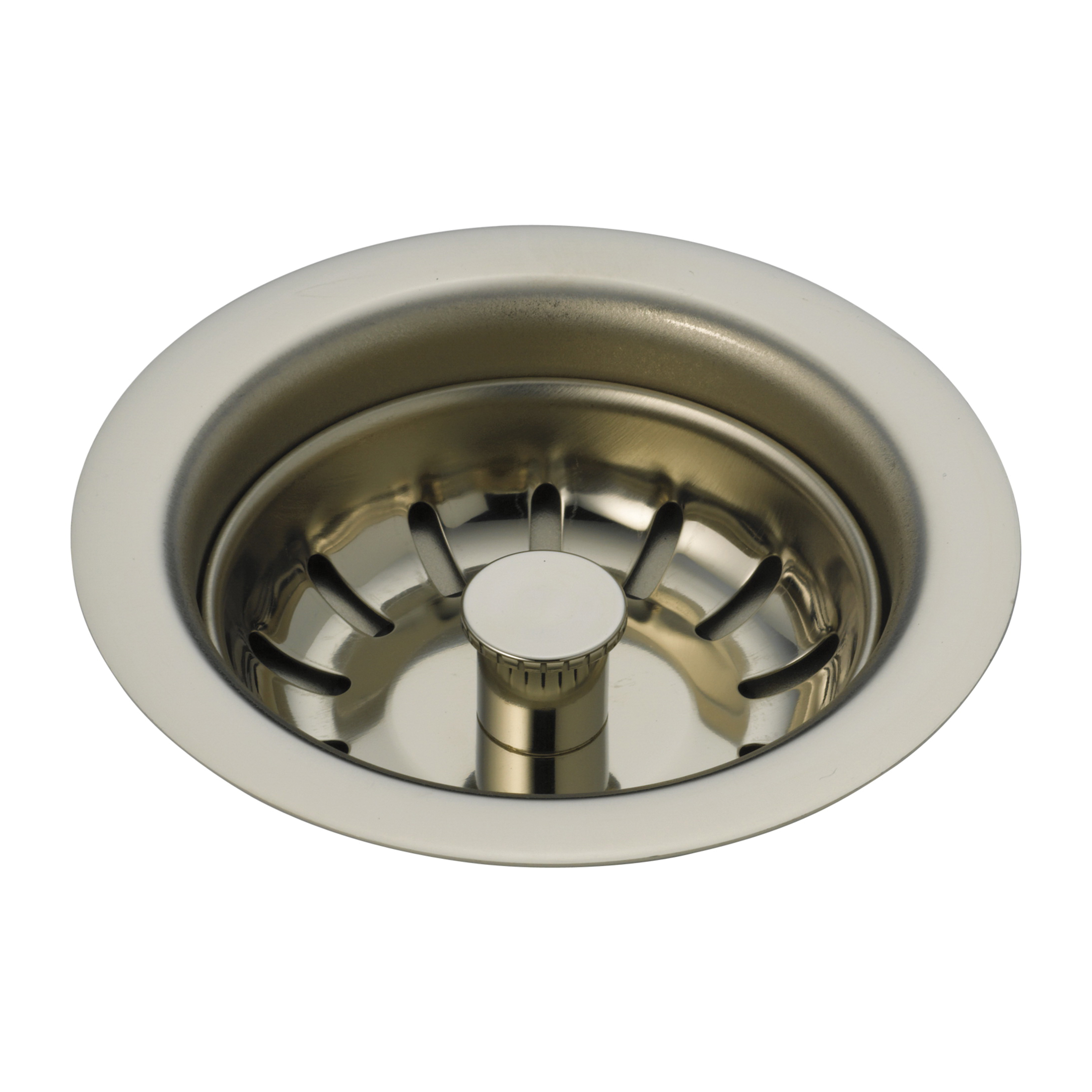 Brizo® 69050-PN Flange and Strainer, 1-1/2 x 11-1/2 in Nominal, NPSM, Brass, Polished Nickel, Import
