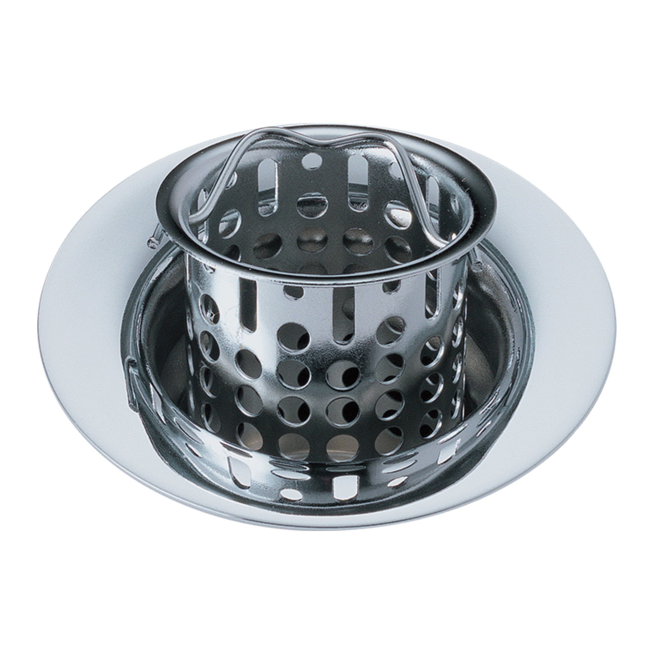Brizo® 69051-PC Flange and Strainer, 1-1/2 x 11-1/2 in Nominal, NPSM, Brass, Chrome Plated, Import
