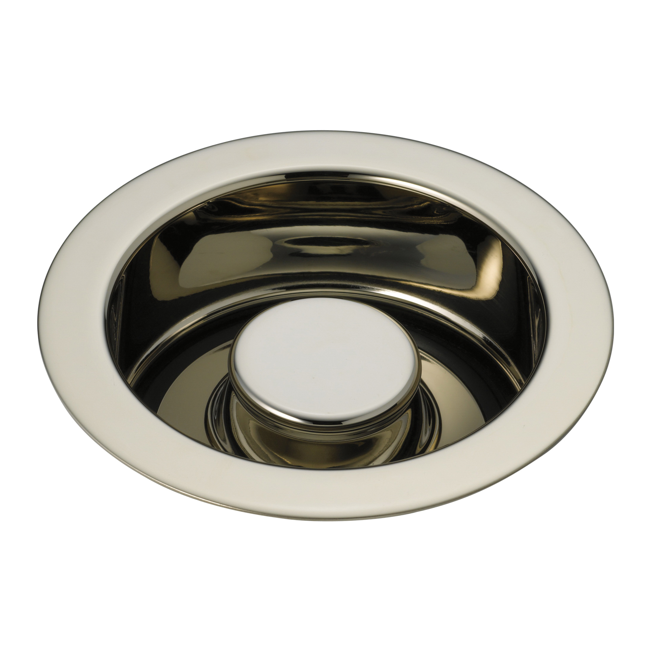 Brizo® 69070-PN Disposal and Flange Stopper, Brass, Polished Nickel, Import