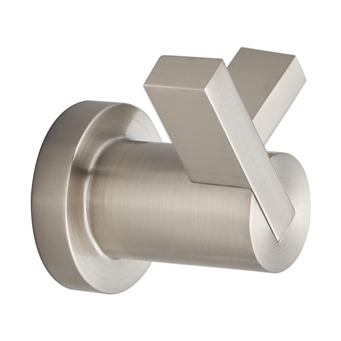 Brizo® 693535-NK Litze™ Robe Hook, 2 Hooks, 3-1/8 in OAW x 2-7/16 in OAD x 2-9/16 in OAH, Import