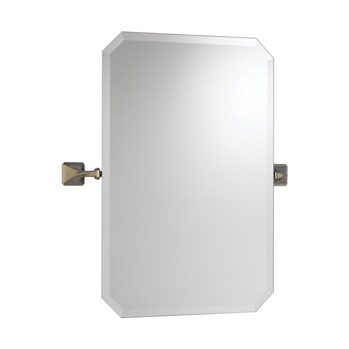 Brizo® 698030-BN Virage® Wall Mirror, Rectangular, 20 in W, Brushed Nickel, Import