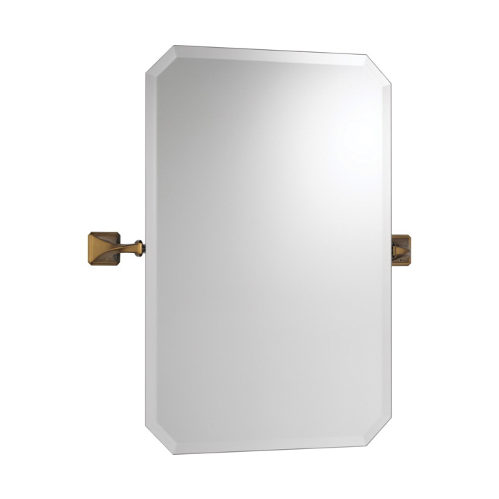 Brizo® 698030-BZ Virage® Wall Mirror, Rectangular, 20 in W, Brilliance® Brushed Bronze, Import