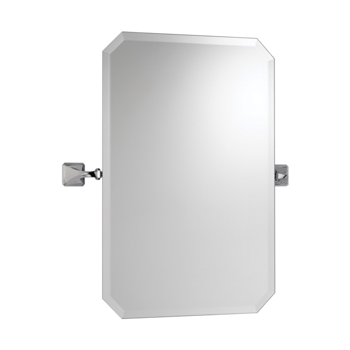 Brizo® 698030-PC Virage® Wall Mirror, Rectangular, 20 in W, Chrome Plated, Import