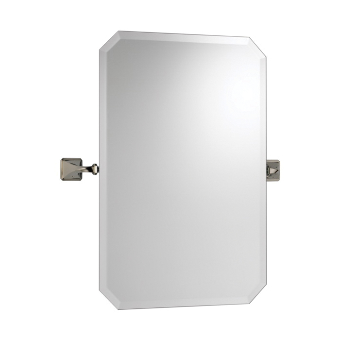 Brizo® 698030-PN Virage® Wall Mirror, Rectangular, 20 in W, Polished Nickel, Import