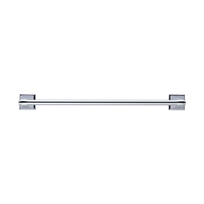 Brizo® 69818-PC Vesi® Round Towel Bar, 5/8 in Dia Ring, 18 in L Bar, 3-5/8 in OAD x 1-29/32 in OAH, Import