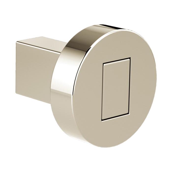 Brizo® 699235-PN Litze™ Drawer Knob, Metal, Polished Nickel, Import