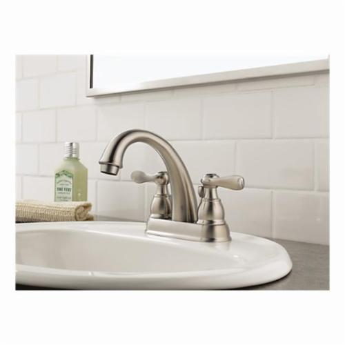 DELTA® B2596LF Windemere® Centerset Lavatory Faucet With Metal Pop-Up Drain