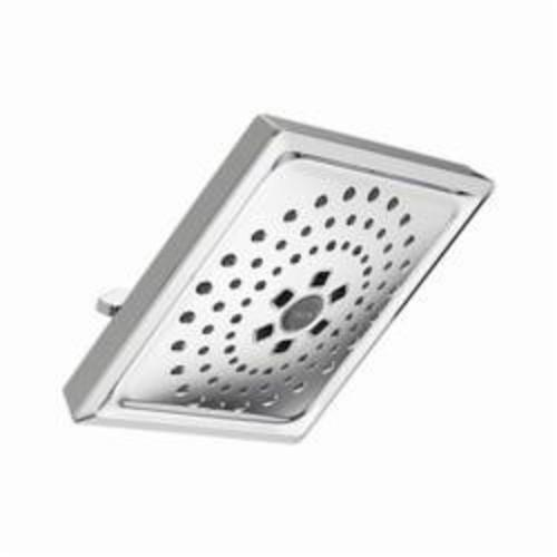 DELTA® 52684 TempAssure® Universal Raincan Shower Head, 2.5 gpm, 3 Sprays, 3-1/2 x 7-5/8 in Head, Domestic