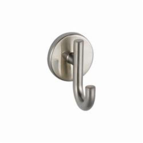 DELTA® 75935-SS Trinsic® Robe Hook, 1-1/8 in OAW x 2-27/32 in OAD x 3-1/8 in OAH, Domestic