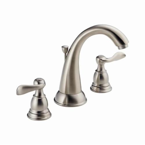 DELTA® B3596LF Windemere® Widespread Lavatory Faucet With Metal Pop-Up Drain