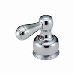 DELTA® H25 Lever Handle, For Use With Model 33-LHP Bidet and Lavatory/Kitchen Faucet, Metal, Chrome Plated