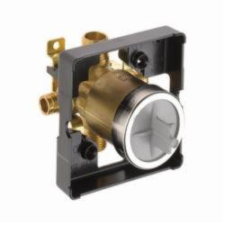 DELTA® R10000-MF Universal Tub and Shower Rough-In Valve Body, 1/2 in Cold Expansion PEX Inlet x 1/2 in Pex Cold Expansion Outlet, Forged Brass Body, Domestic