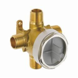 DELTA® R11000 3-Port Rough-In Valve Body, 200 psi, Forged Brass Body, Domestic