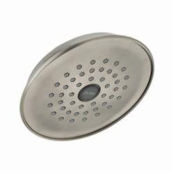 DELTA® RP42578SS Lahara® Universal Raincan Shower Head, 2.5 gpm, 1 Spray, 5-7/8 x 2-1/2 in Head, Domestic