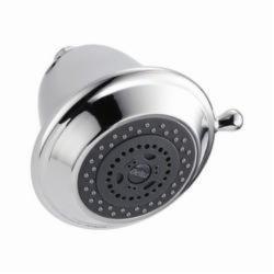 DELTA® RP43381 Universal Premium Shower Head, 2 gpm, 3 Sprays, Wall Mount, 4-3/4 x 4-7/8 in Head, Domestic