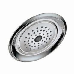 DELTA® RP48686 Universal Raincan Shower Head, 2 gpm, 1 Spray, Wall Mount, 7-7/16 x 2-3/4 in Head, Domestic
